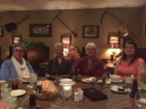 Dinner at the Hawthorne Inn after a fantastic talk on German angora gene sequencing.