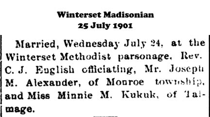 Madison County Marriage Records