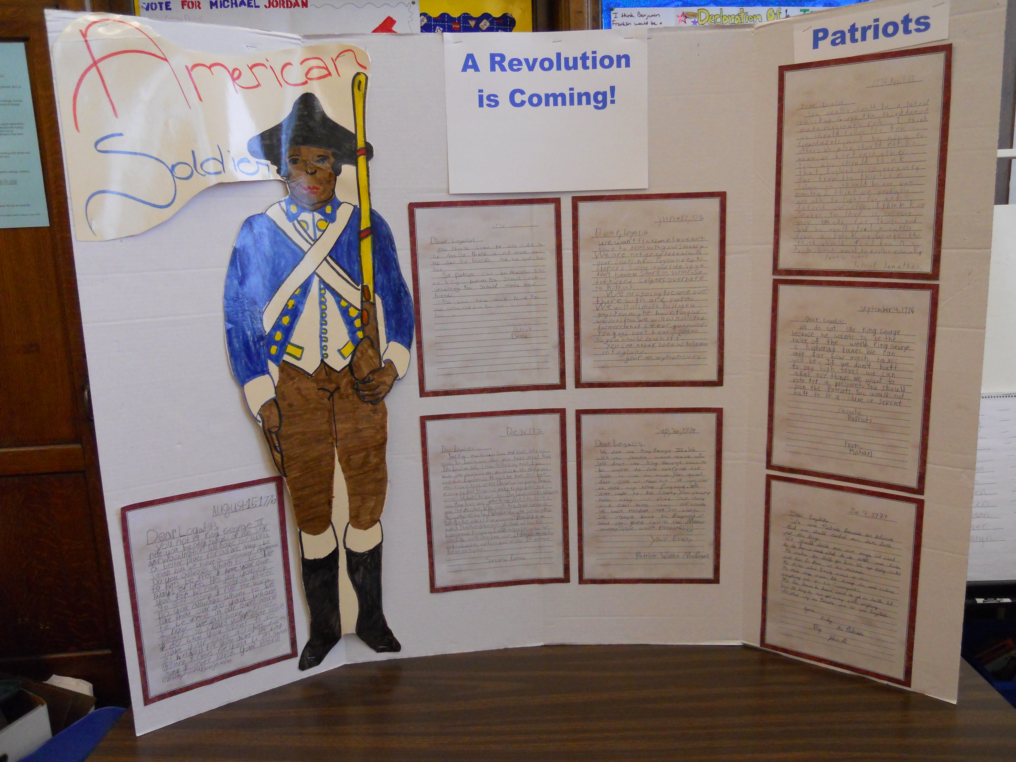 An Update On Our American Revolution Webquest