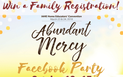 Win a FREE family registration for the 2018 IAHE Home Educators' Convention!