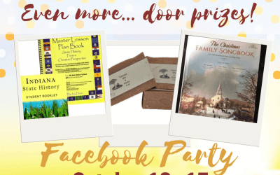 1, 2, 3… Go! Even more door prizes!