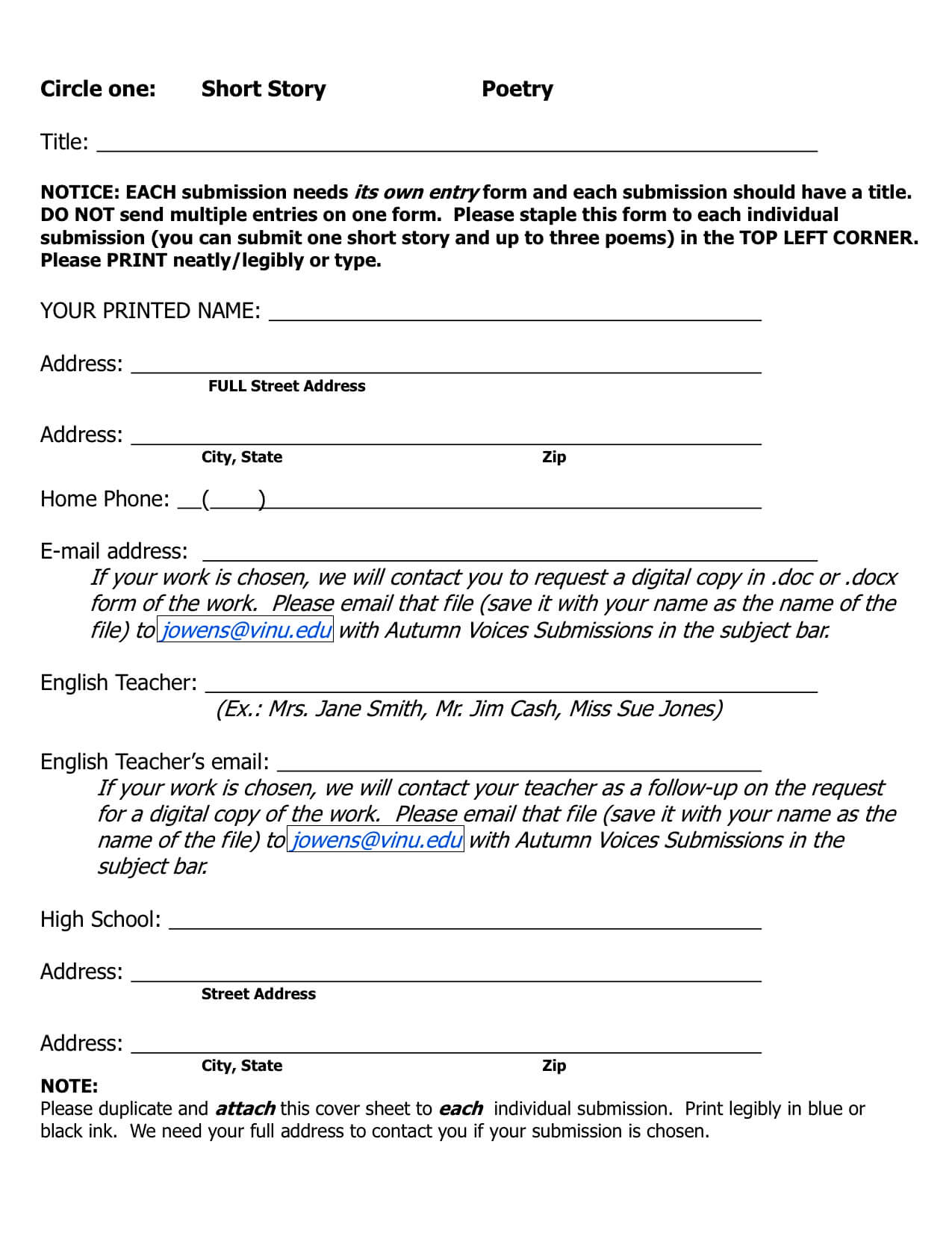 hslda essay contest 2014