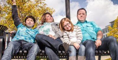 Jason and Kimberly Bean and Family