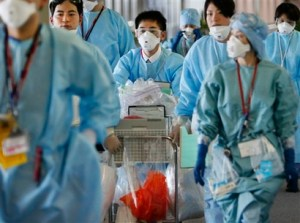 APTOPIX Japan Swine Flu