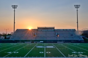High school stadium 1