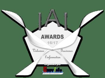 Logo IAI Awards GouvInfo - 16-17