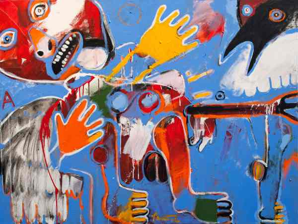 Contemporary Native American Artist Rick Bartow Passes