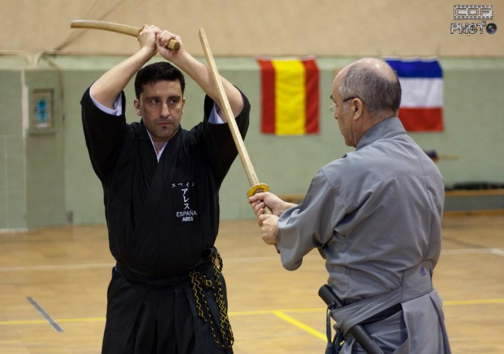 Curso de Iaido en Valladolid. Robert Rodríguez Sensei. Crónica (4/6)