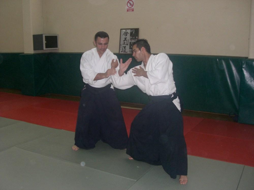 Curso de Aikido en Valladolid. Roberto Sánchez (3/3)