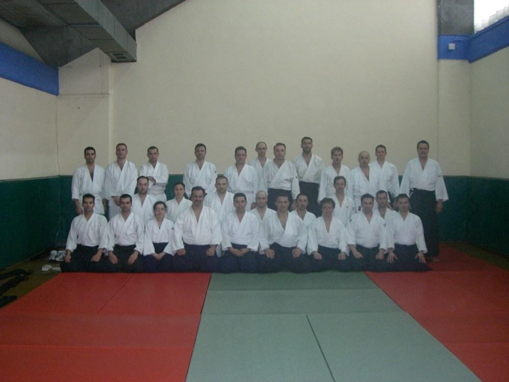 Curso de Aikido en Valladolid. Roberto Sánchez (1/3)