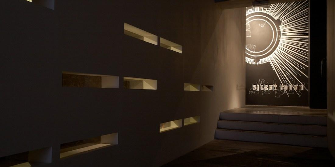 Silent Sound installation at A Foundation