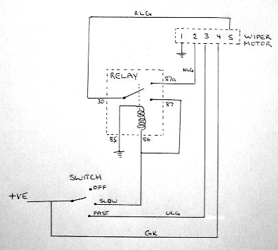 Rear Wiper Motor Wiring Diagram  impremedia
