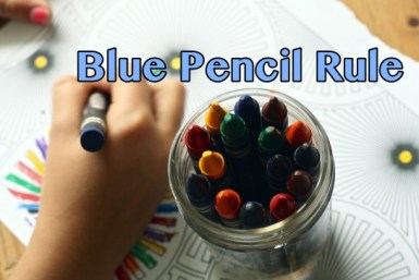 Blue Pencil Doctrine