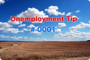 Unemployment Tip