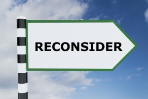 Unemployment Reconsideration