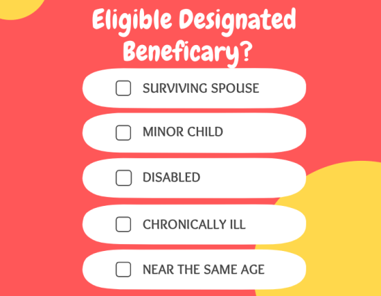 5 Types of an Eligible Designated Beneficiary
