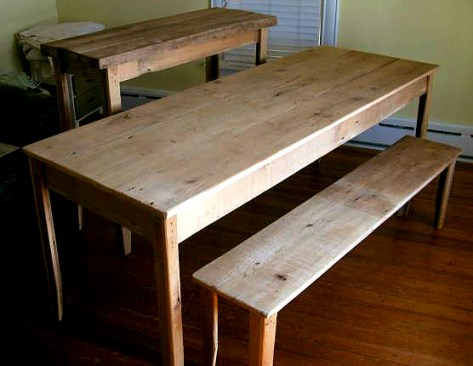 Harvest dining room table plans Plans DIY How to Make