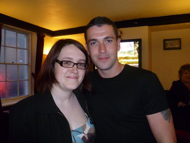 I met Shayne Ward!