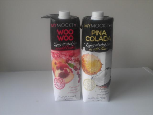 My Mocktail: Woo Woo & Pina Colada