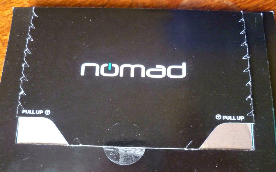 Nomad | Charge Key & Charge Card