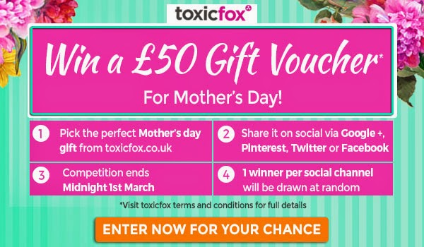 Mothers Day Competition with Toxic Fox