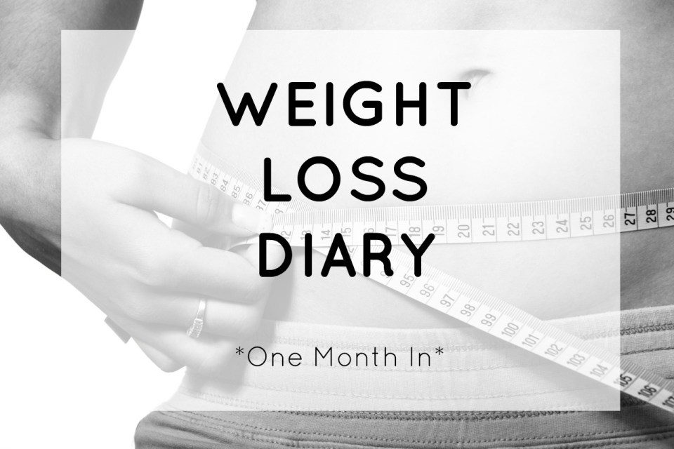 Weight Loss Diary | One Month In