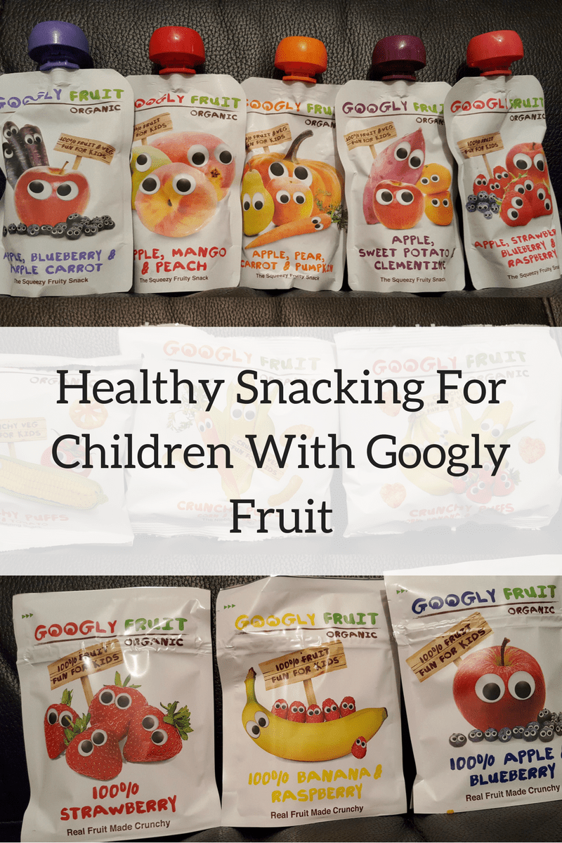 Healthy Snacking For Children With Googly Fruit