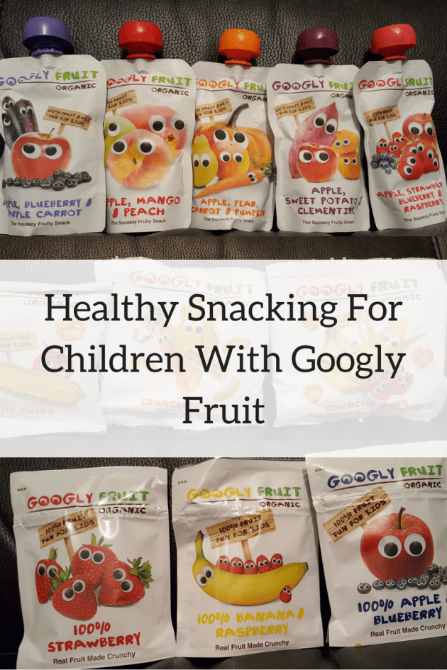 Googly Fruit healthy snacking for children