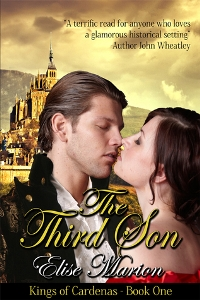 Audio Book Review: The Third Son, Kings of Cardenas #1 by Elise Marion