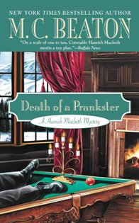AudioBook Review Death of a Prankster: Hamish Macbeth #7 by M.C. Beaton