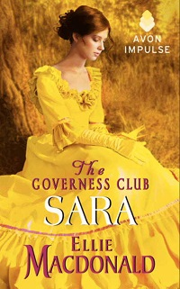 Sara: The Governess Club #3 by Ellie MacDonald with Giveaway