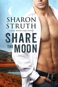 Share the Moon: Blue Moon Lake # 1 by Sharon Struth