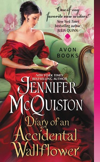 Diary of an Accidental Wallflower: Seduction Diaries # 1 by Jennifer McQuiston with Excerpt and Giveaway