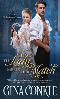 The Lady Meets Her Match: Midnight Meetings #2 by Gina Conkle with Excerpt and Giveaway
