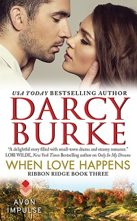 When Love Happens: Ribbon Ridge # 3 by Darcy Burke with Giveaway