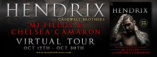 Hendrix: Caldwell Brothers #1 by Chelsea Camaron & M.J. Fields with Excerpt and Giveaway