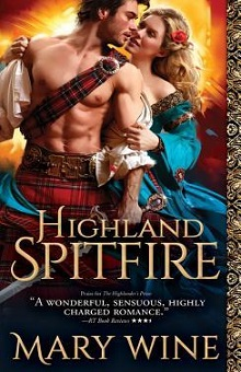 Highland Spitfire: Highland Weddings #1 by Mary Wine