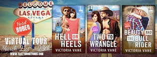 Hell on Heels: Hotel Rodeo #1 by Victoria Vane with Giveaway