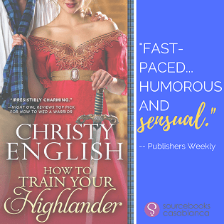 How to Train Your Highlander: Broadswords and Ballrooms #3 by Christy English