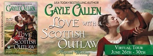 Love with a Scottish Outlaw: Highland Weddings #3 by Gayle Callen