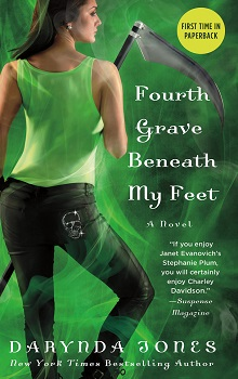 Fourth Grave Beneath My Feet: Charley Davidson #4 by Darynda Jones