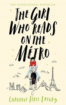 The Girl Who Reads on the Métro  by Christine Féret-Fleury