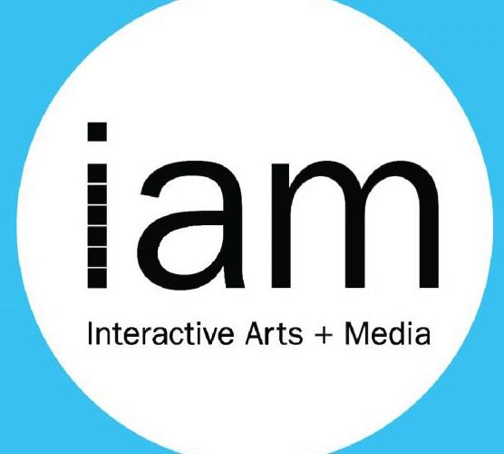 IAM (Interactive Arts and Media) graphic