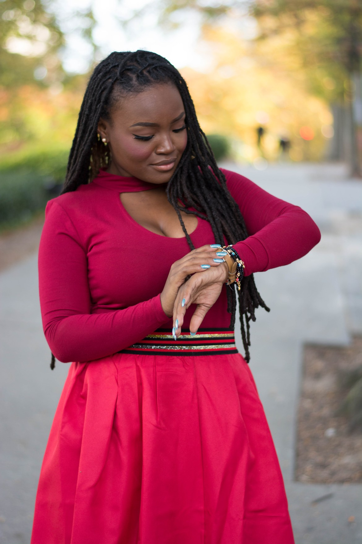 HOLIDAY INSPIRATION LOOKS- RED EVERYTHING