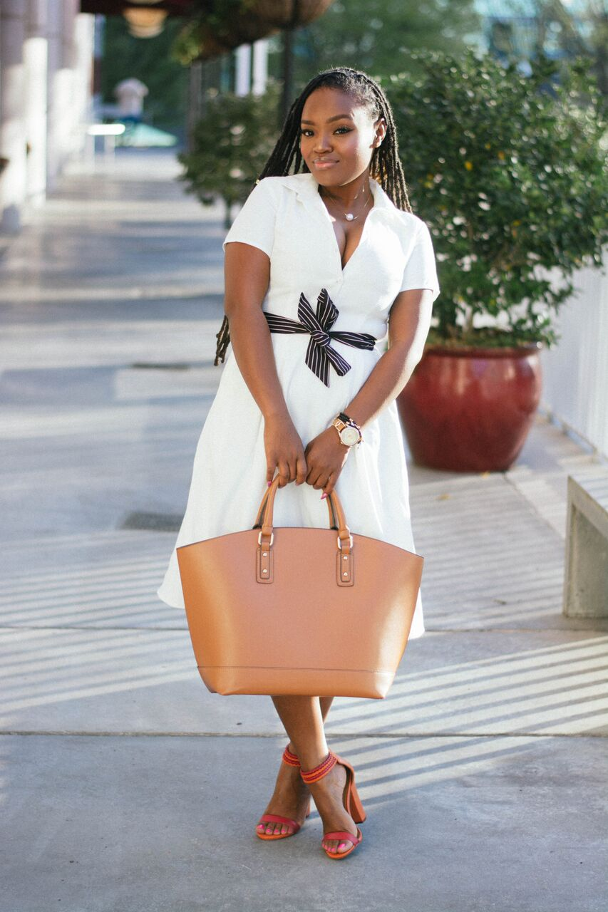 STYLE: LITTLE WHITE DRESS