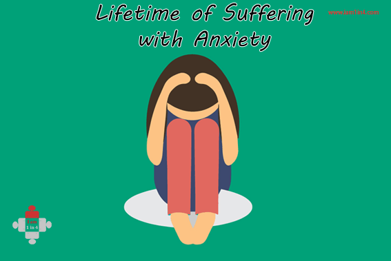 Lifetime of Suffering with Anxiety