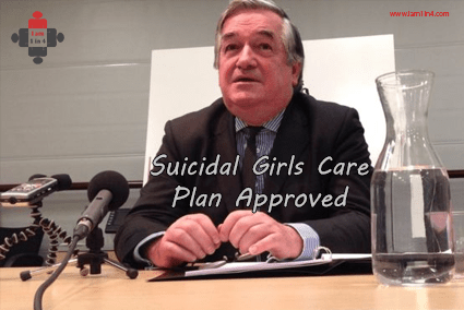 Suicidal Girls Care Plan Approved
