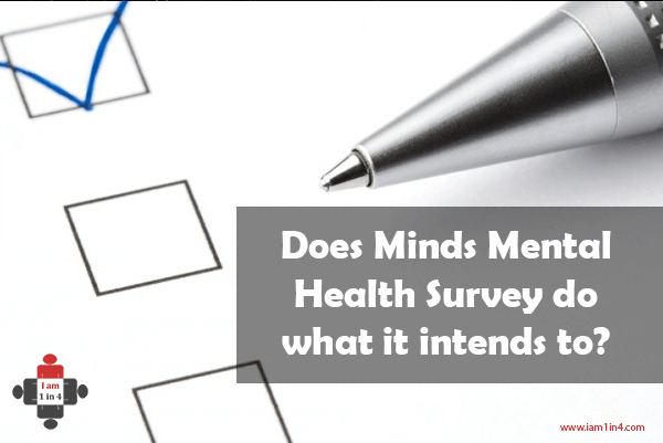 Does Minds Mental Health Survey do what it intends to?