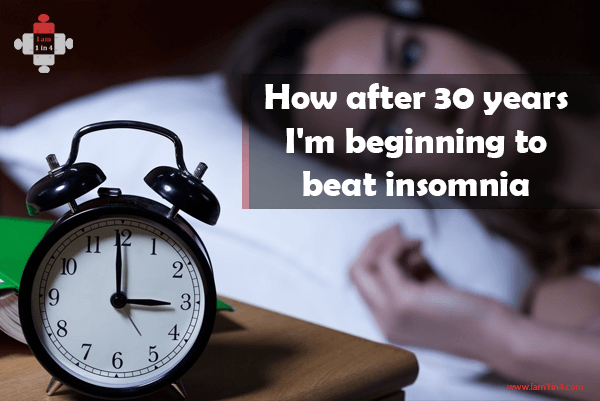How after 30 years I'm beginning to beat insomnia