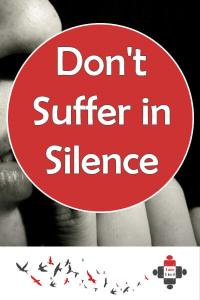 Don't Suffer in Silence. Stigma is the worst thing about being sectioned. Now I'm no longer alone. I was masking my mental deterioration with drugs & drink. Don't suffer in silence